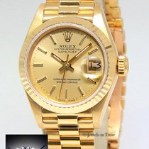 Rolex Datejust President 18k Yellow Gold Champagne Stick Dial...