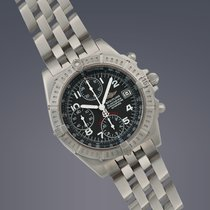Breitling Black Bird stainless steel automatic chronograph...