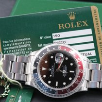 Rolex GMT-Master II 16710 Card Serial M 3186 Unpolished Stick...