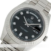 Rolex Day Date II Weißgold 218239