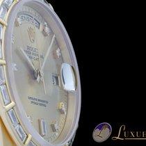 Rolex Day-Date Diamantbesatz Diamantlünette(Rolex) 18kt...
