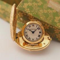 卡地亚 (Cartier) Purse Watch Vintage 18K Yellow Gold