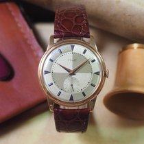 Piaget Flat Pink Gold Vintage Wristwatch