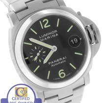 파네라이 (Panerai) PAM 298 40mm Luminor Marina Stainless Automatic...
