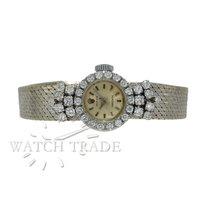 Rolex Precision Manual Wind 18k white gold