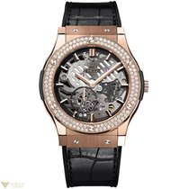 Hublot Classic Fusion Classico Ultra-Thin Gold Diamonds...