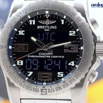 Breitling Men's Professional Cockpit B50 Titanium on...