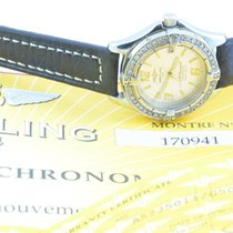 Breitling Colt Oceane Quartz Damen 32mm + Brillianten A57350 ...