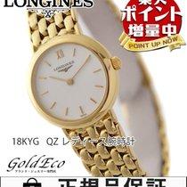 론진 (Longines) 【超美品】LONGINES【ロンジン】 K18YG  レディース腕時計【中古】 クォーツ...