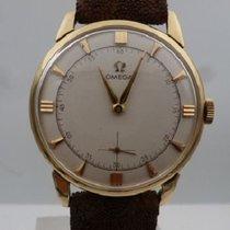 Omega vintage 1960 méca cal 267 ref 2894-3 gold 18 kts