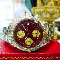 Breitling Chronomat  B13048 Chronograph Burgundy Automatic...