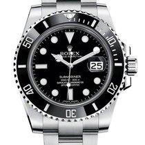 Rolex Submariner Date - Black Ceramic Bezel 116610LN