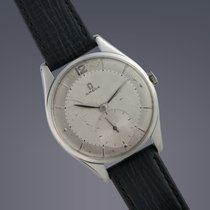 Omega Oversize stainless steel manual watch 70th Birthday
