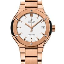Hublot Classic Fusion King Gold Bracelet Opalin Automatic 33mm