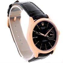 ロレックス (Rolex) Cellini Date 18k Rose Gold Everose Watch 50515...