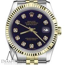 ロレックス (Rolex) 36mm Datejust 18k Gold & Stainless Steel...