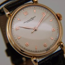 IWC Vintage 18K Rose Pink Gold Dress C 89