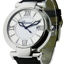 Chopard 388531-3001 Imperiale 40mm in Steel - on Black Leather...