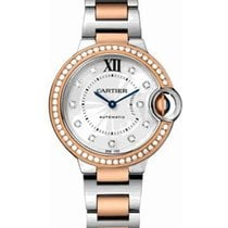 Cartier WE902077 Ballon Bleu Ladies 33mm Automatic in 2-Tone -...