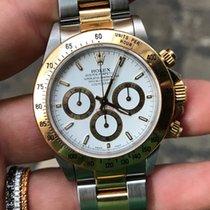 Rolex Daytona oro gold acciaio Zenith white bianco