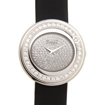 Piaget Possession 18k White Gold With Diamond Silver Quartz...