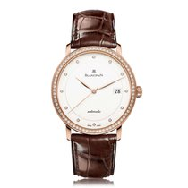 Blancpain Villeret Rose Gold Automatic Mens Watch 6223-2987-55B