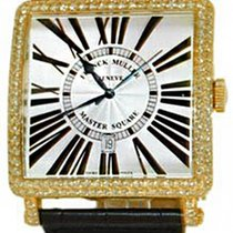 Franck Muller Master Square Automatic Yellow Gold Diamond Watch