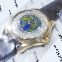 Patek Philippe Complications World Time Enamel Dial Rose Gold...