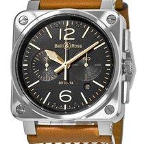 ベルアンドロス (Bell & Ross) Aviation Men's Watch BR03-94-GOL...