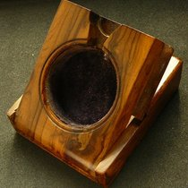 IWC Echt Holz Ständer / Box Taschenuhren, Antik 1900 aus England