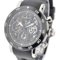 Chronoswiss CH-9043SB-BK Timemaster Chronograph Skeleton -...