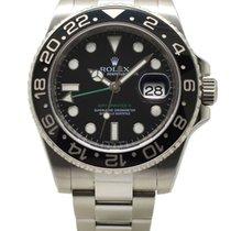 Rolex GMT-Master II Steel 40mm Black Dial 116710LN 2009