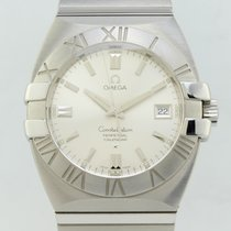 Omega Constellation Double Eagle Quartz Steel 15133000