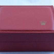 Rolex Holz Box Rar Uhrenbox Watch Box Case Rot 3 Rare