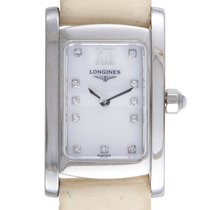 Certified Pre-Owned Longines DolceVita Womens Stainless Steel...