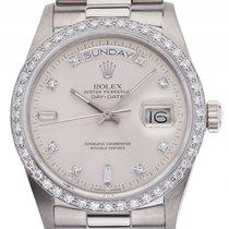 Ρολεξ (Rolex) Day Date 18kt Weißgold Diamond orig. Rolex...