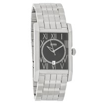 Hugo Boss Mens Black Date Dial Quartz Stainless Steel Watch...