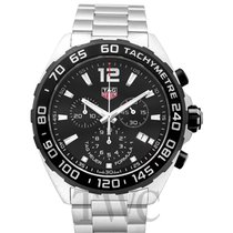 TAG Heuer Formula 1 Chronograph 200M Black Steel 43mm - CAZ1