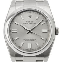 Rolex Oyster Perpetual 36mm Stainless Steel Silver/Index 116000
