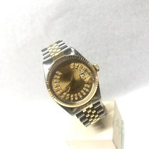 Rolex Datejust 16253 Steel/Gold 36mm Gold Dial