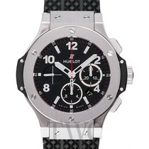 Hublot Big Bang Steel Black Steel/Rubber 44mm - 301.SX.130.RX