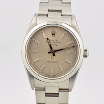 Rolex Oyster Perpetual Air-king Stainless Steel Silver Dial 14000