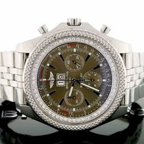 Breitling Bentley 6.75 Chocolate Dial Big Date 49MM A44362...