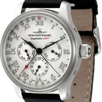 Zeno-Watch Basel NC Retro GMT Full Calendar