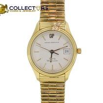 Girard Perregaux Quartz Solid 18k Yellow Gold Band Chronometer...