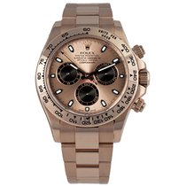 Rolex DAYTONA 18K Everose Gold Watch Pink Dial Box/Papers