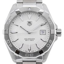 TAG Heuer Aquaracer Quartz 40,5 Stainless Steel Silver Dial