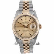 Rolex Datejust Steel and 18ct Yellow Gold Jubilee 16233
