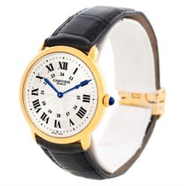 Cartier Ronde Louis Privee 18k Yellow Gold Mechanical Mens Watch