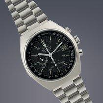 Omega Speedmaster Mark IV stainless steel automatic chronograp...